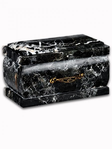 Marble & Onyx Square Cremation Urns