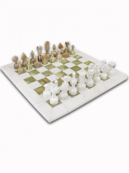 Marble & Onyx Chess Sets